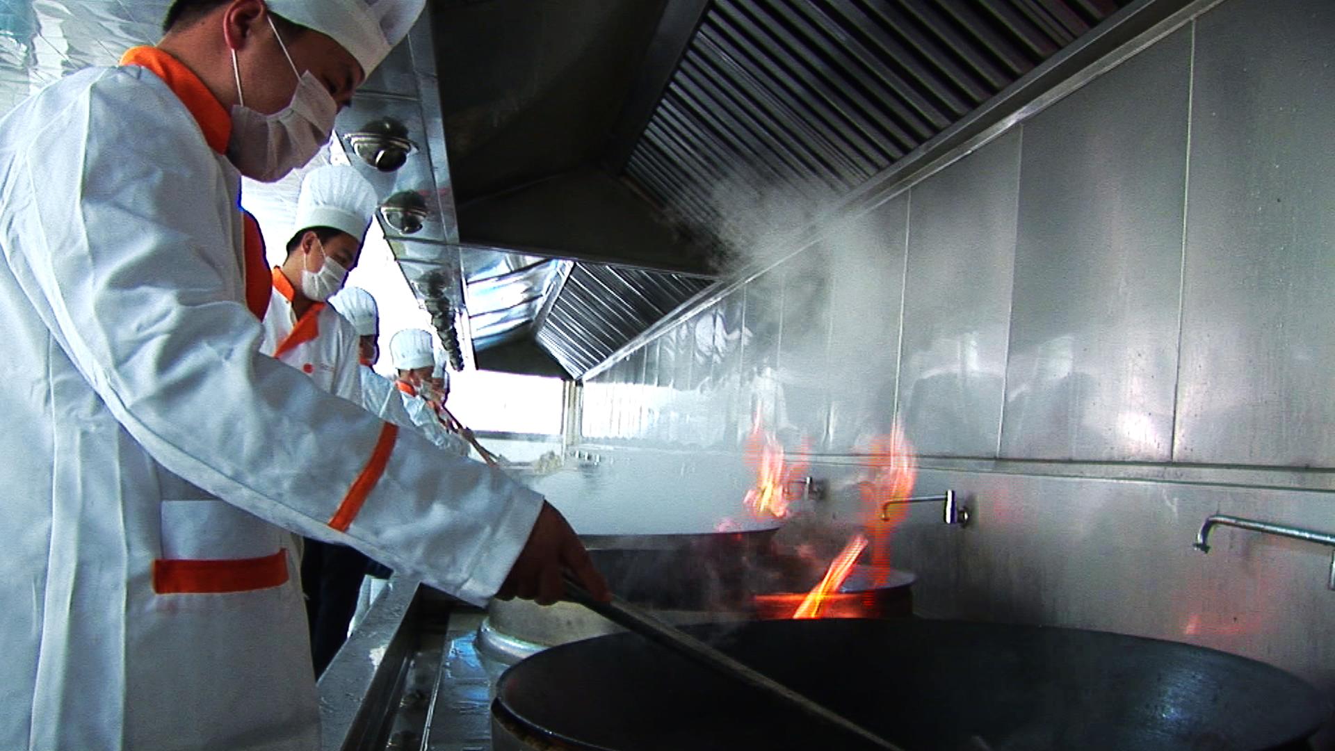 厨师操作环境
